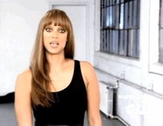 Pin for Later: 28 Stages of Dating as Told by the Many Faces of Tyra Banks You don't want another chick to so much as look at him.