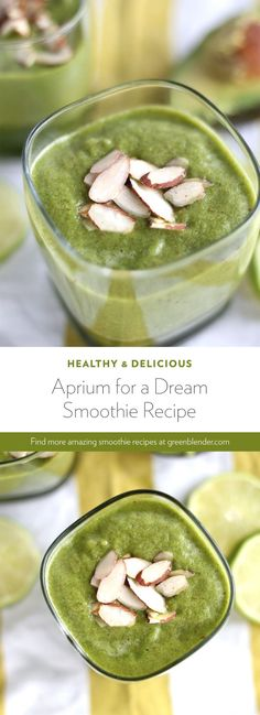 Aprium For A Dream on Green Blender