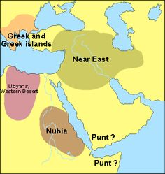 This Is A Map Of The Egyptian Old Kingdom As You Can See Most - Map of egypt old kingdom