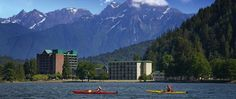 Enter to win a Girlfriends Spa Getaway package for Harrison Hot Springs Resort