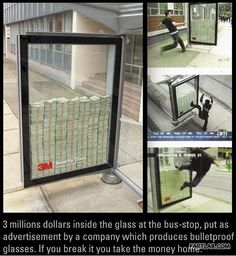 Break it and you can take $3 million in cash