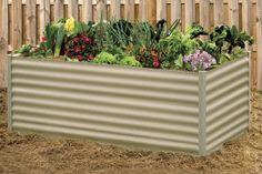 Rectangular Raised Garden Bed x x Wilderness Brisbane, Melbourne, Sydney, Container Gardening, Gardening Tips, Beds Online, Raised Garden Beds, Outdoor Furniture, Outdoor Decor