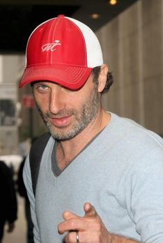 Andrew Lincoln old enough to be someone's fathet...but my oh my is he pretty !