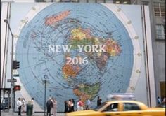 Flat Earth is Showing Up Everywhere – New York City 2016 – from Nee B