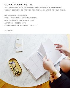 // DETAILS Dated January 2017 to December 2017, our coveted annual planner is back in two new designs: MONO MARBLE and TRIAD MARBLE. We are introducing our first monochromatic design alongside a blush