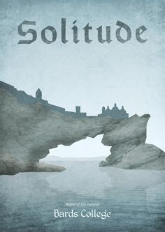 Solitude by Dean Walton #skyrim #geek #gamer #fantasy