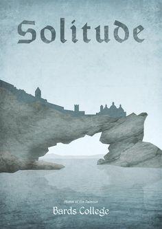Les images du vide TES: Location Posters - Solitude