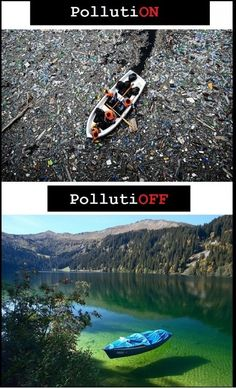 Pollution    This is very confronting, how can we let ourselves do such a thing. Killing the planet for our convenience and it turns out we are killing ourselves.
