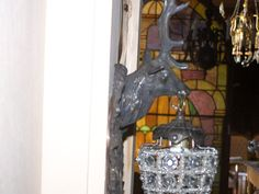 excellent pair of  deer head sconces stag by thelittlemuseumcompa, $225.00
