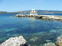 Argostoli is the most developed city in Kefalonia, Greece
