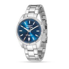 #Montre #Sector Homme R3253476002 - Acier - Bleu
