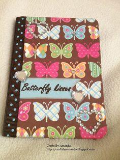 Altered mini comp notebook