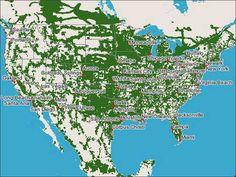 ATT Go Phone Prepaid Coverage Map Cell Phones Pinterest Phone - T mobile prepaid coverage map