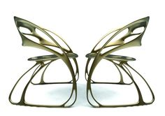 Ultimate chair for butterfly lovers: check out the 'Monarch' chair by Eduardo García Campos  !