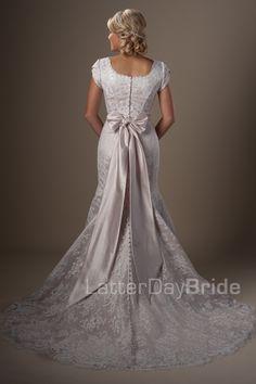 Latter Day Bride, Gateway Bridal & Prom Fantasy Wedding Dresses, Wedding Dress With Veil, Gorgeous Wedding Dress, Wedding Attire, Wedding Gowns, Dream Wedding, Temple Wedding, Spring Wedding, Wedding Cakes