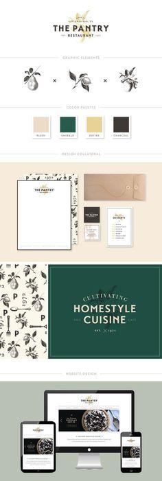 The Pantry Restaurant Branding