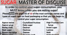 Do you - or anyone you know - have uncontrolled weight gain, diabetes or pre-diabetes, cancer or tooth decay? Please share this essential chart to help your friends who are battling against any of the many health issues that might be caused by sugar.