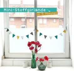 The summer leaves much to be desired . in Lüneburg it is cold and rainy. But what always ensures a little summer mood are garlands. They somehow give the feeling of a summer party in the gard Diy Interior, Sewing For Kids, Are You Happy, Diys, Kids Room, Cold, Frame, Summer, Inspiration