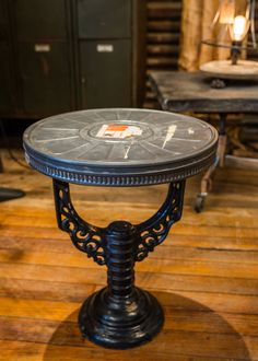 #industrial #table #decor #furniture #interior