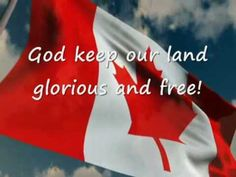 National Anthem of Canada with English lyrics I don't remember where I found the music and who are the actual singers. Canada For Kids, All About Canada, O Canada, Happy Birthday Canada, Happy Canada Day, Youtube Happy, Canadian Thanksgiving, I Am Canadian, Across The Border
