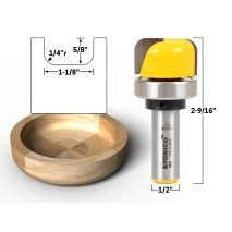 J Birds, Router Setting, Cnc Router Bits, Garage Organization Tips, Faux Panels, Router Projects, Thing 1, Large Bowl, Shank