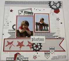scrapistelle Kids Scrapbook, Scrapbooking Layouts, Scrapbook Pages, Photo Layouts, Page Layout, Mini Albums, Photos Originales, General Crafts, Wedding Vows