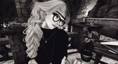 """Check out the Second Life Pic of the Day, """"B&W"""" by Shyne Button."""