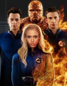 Fantastic, The Thing, Human Torch and the Invisible Woman (Fantastic Four: Rise of the Silver Surfer) Fantastic Four 2005, Jessica Alba Fantastic Four, Mister Fantastic, Marvel Actors, Marvel Heroes, Marvel Movies, Marvel Avengers, Smallville, Superman