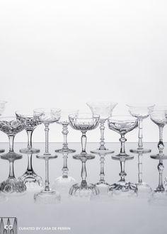 Champagne Coupes // Casa de Perrin