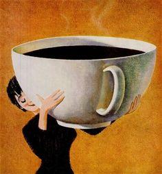 coffee cup hug