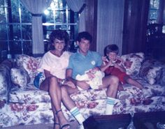 Monica,Jeff, Chad and Eric- 1985