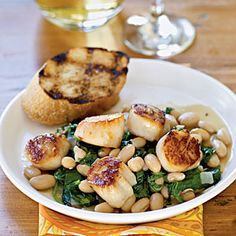 Cooking with Scallops