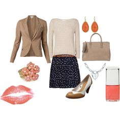 """""""preppy work outfit"""" by juliealice76 on Polyvore"""