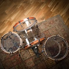 Acryllic drums from SJC
