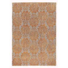 Chloe Rug in Copper (floral Pattern, Tufted Rugs) | Handmade Area Rugs from Company C (New)