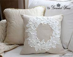 Декоративные подушки в стиле винтаж своими руками ливинтернет