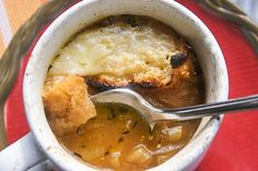 FRENCH ONION SOUP...