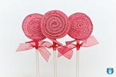 10 Valentine Sour Lolli's por SweetsIndeed en Etsy