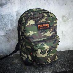 Thrasher Magazine Backpack - Camouflage