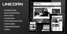 Unicorn - Clean and Responsive Magazine Theme #responsive #magazine #theme #wordpress #website #web #mobile [$45]