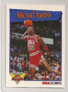 99387ddc253 1991-92 Hoops Slam Dunk Michael Jordan Insert Card  4. Rare insert card