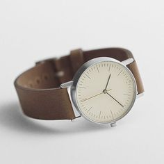 A beautiful Swiss watch on an Italian leather strap, from Stock Watches.  Via Iainclaridge. - Tap the link to shop on our official online store! You can also join our affiliate and/or rewards programs for FREE!