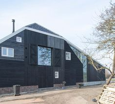 Black Scandinavian Barn