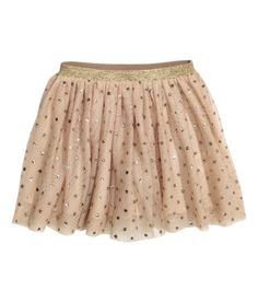 Tulle Skirt | Dark taupe/feathers | Kids | H&M US