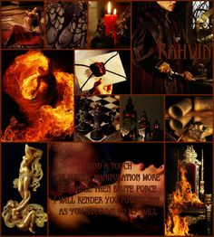 Rahvin, one of the thirteen Forsaken.  - The Wheel of Time Series.