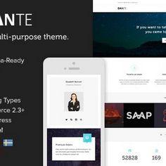 Dante - Responsive Multi-Purpose WordPress Theme Full