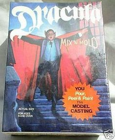 Monster 1192: Dracula Mix N Mold Model Casting Kit, Mint Sealed 74 -> BUY IT NOW ONLY: $350 on eBay!