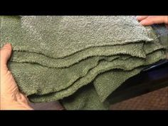 How to make washcloth or dishcloth by repurposing old towels. Recycle old towels with this idea. ******* Look for new crafting videos on our channel on Monda. Recycled T Shirts, Old T Shirts, Recycled Crafts, Reusable Diapers, Learn To Sew, How To Make, Old Towels, Fabric Markers, Sewing Material
