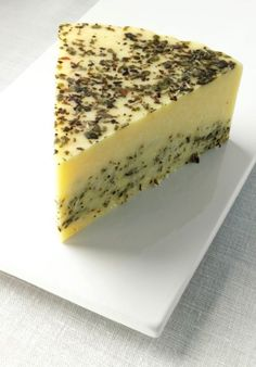Sage Derby cheese - he loves it with raisin rosemary crackers