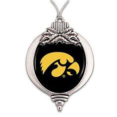 FTH Iowa Hawkeyes Christmas Ornament